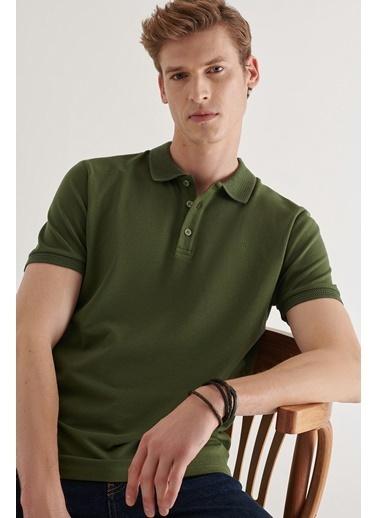 Avva Erkek  Polo Tişört A11B1146 Haki